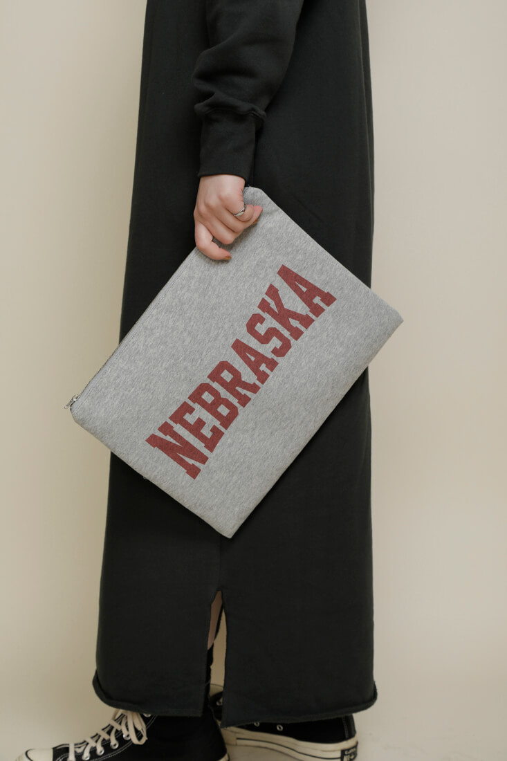 AP STUDIOコラボ NEBRASKA CLUTCH BAG